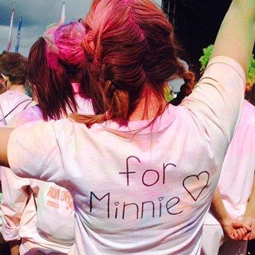 The Colour Run for Minnie
