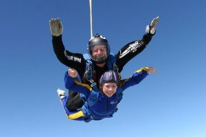 Skydiving for Tiny Tickers