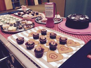 Caesers Casino Bake Sale for Tiny Tickers